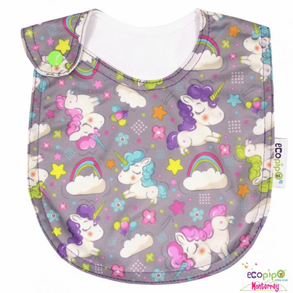 Babero para bebé | Ecopipo Unicornios