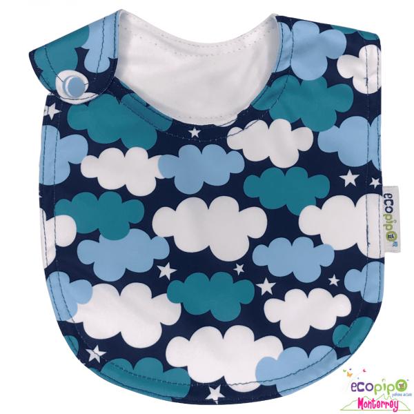 Babero para bebé | Nubes
