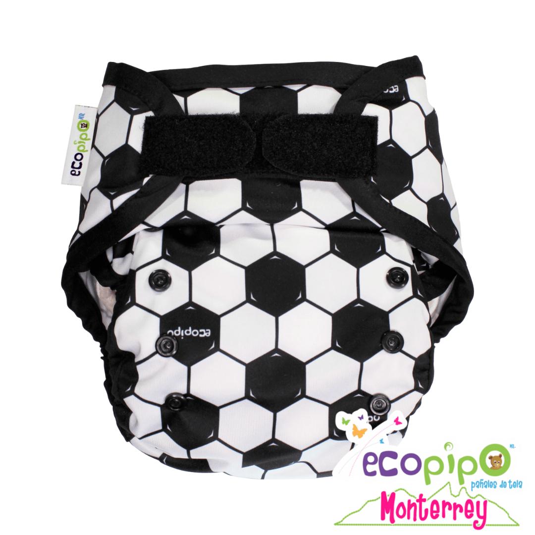 Cubierta para pañal de tela – Futbol