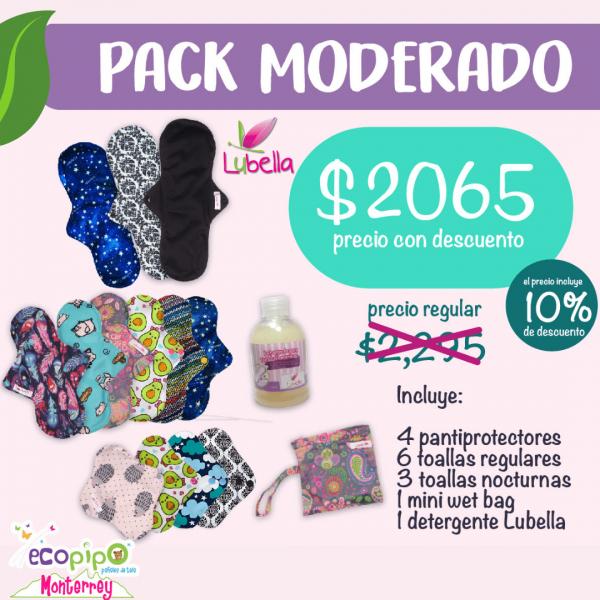 Toallas Femeninas de Tela | Pack Moderado