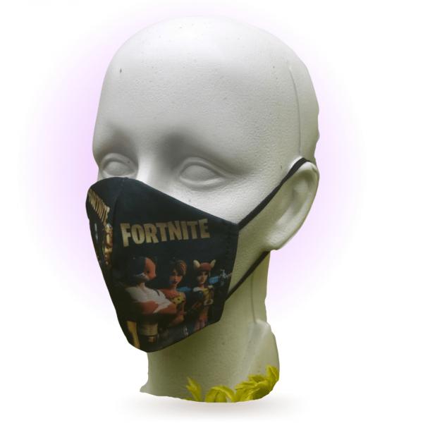Cubrebocas para niños Estampado Fortnite
