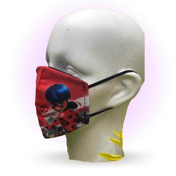 Cubrebocas para niños | Estampado Miraculus