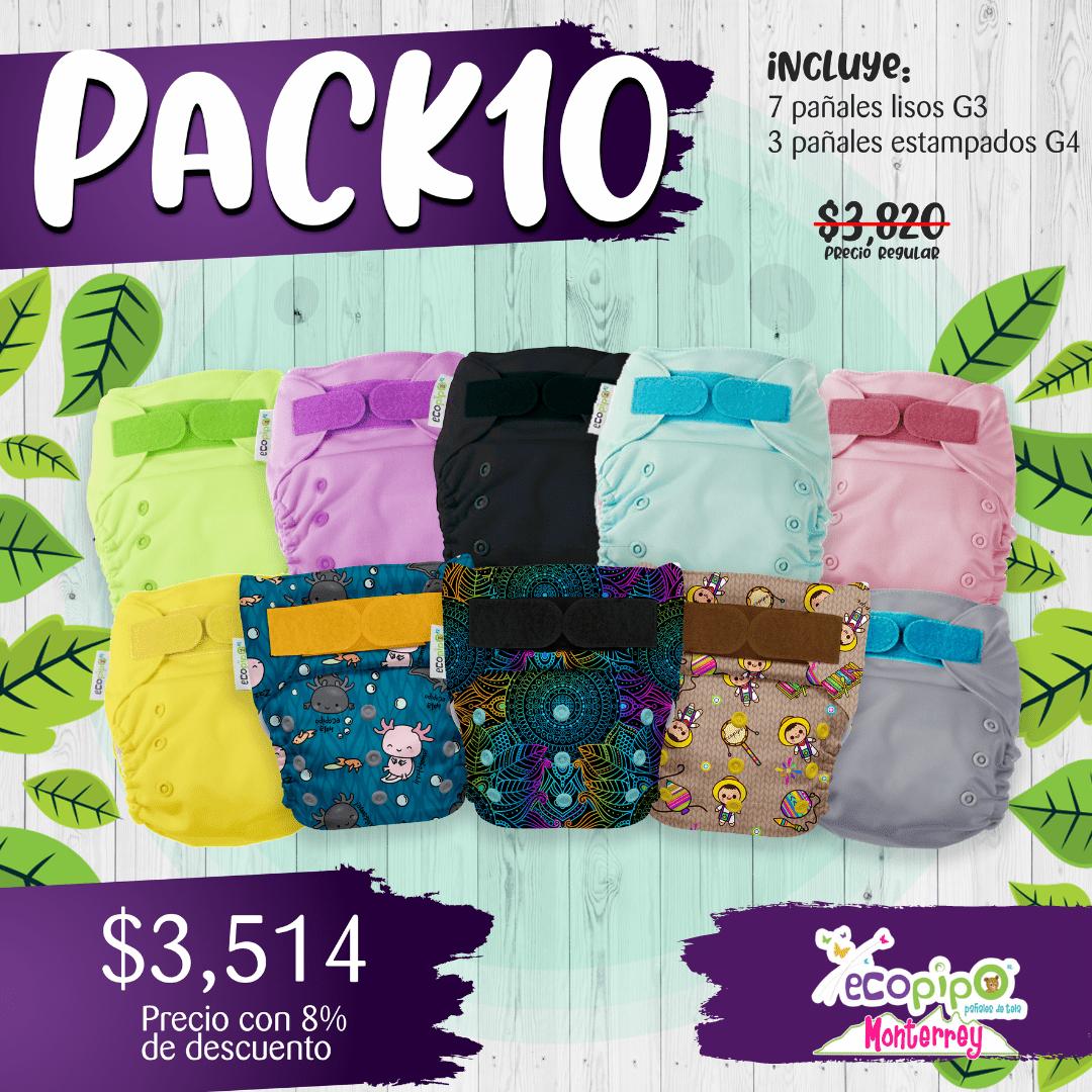 Pañales Ecológicos Precio Con Descuento | 10 pack