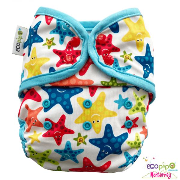 Pañal de natación- estrellas